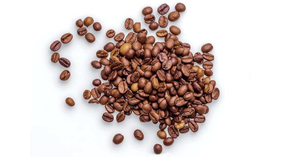 Ein Haufen Kaffeebohnen